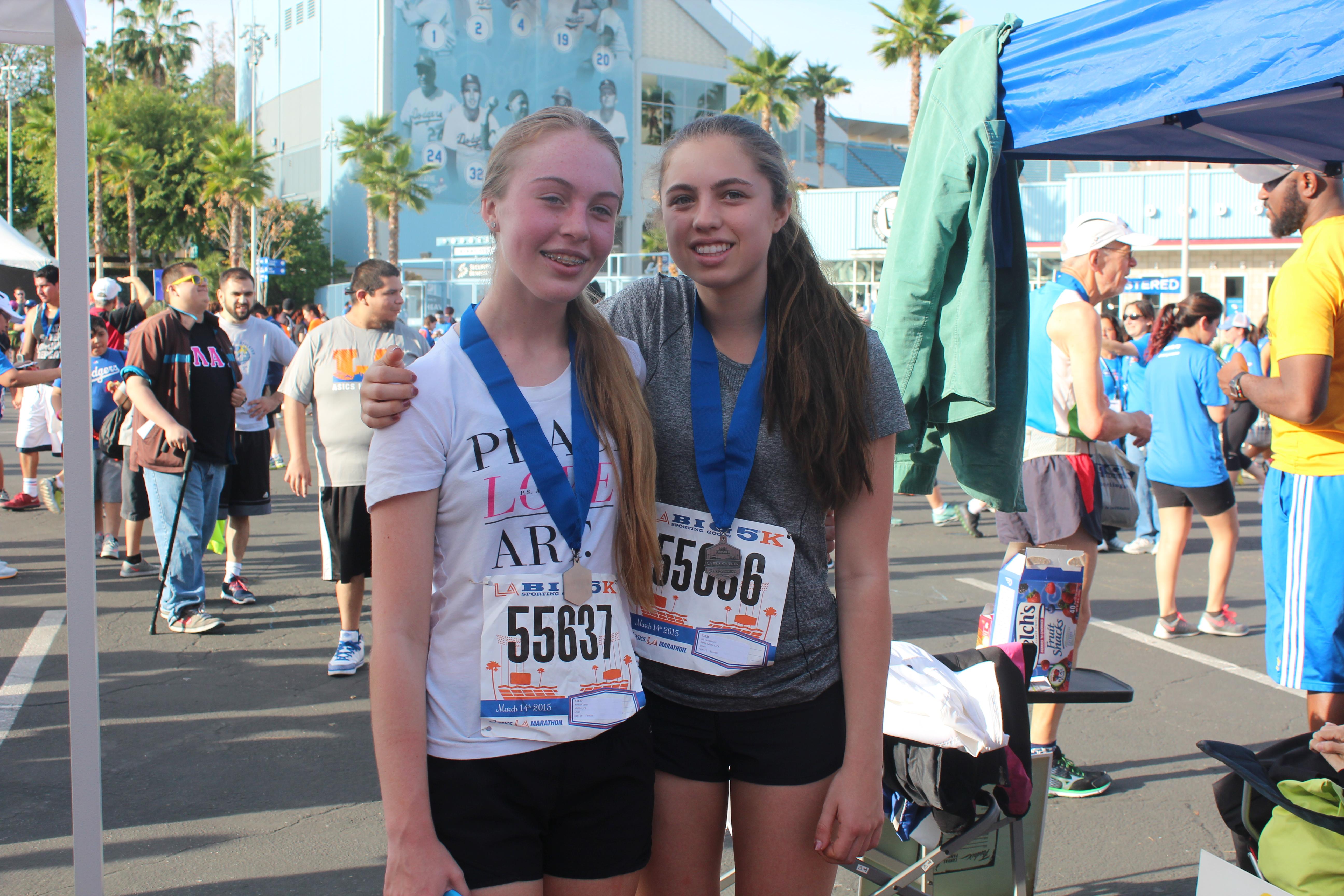 #MarathonMonday | Julian Stern & Ali Van de Bunt