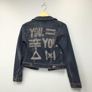 P.S. Arts custom denim jacket