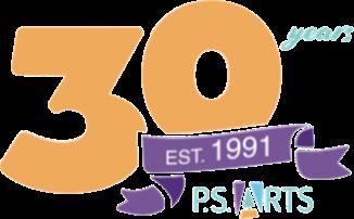 P.S. Arts 30 anniv logo