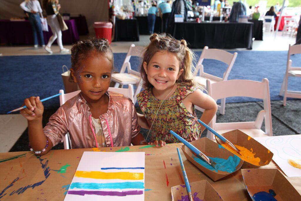 P.S. Arts Kids painting