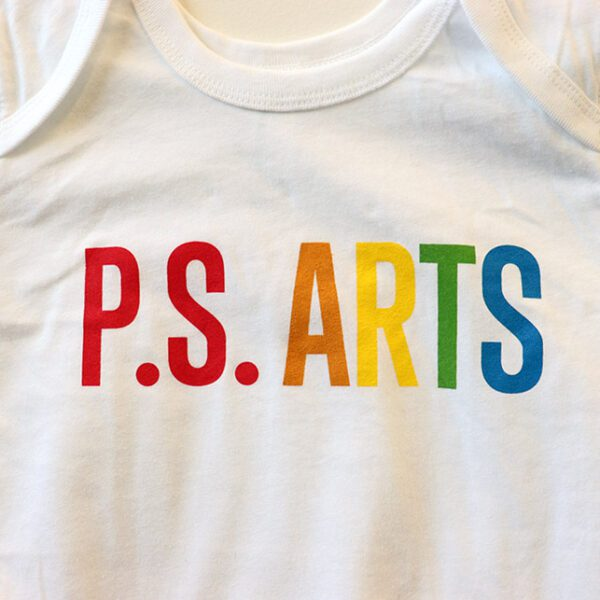 P.S. Arts custom Rainbow Shirt Onesie
