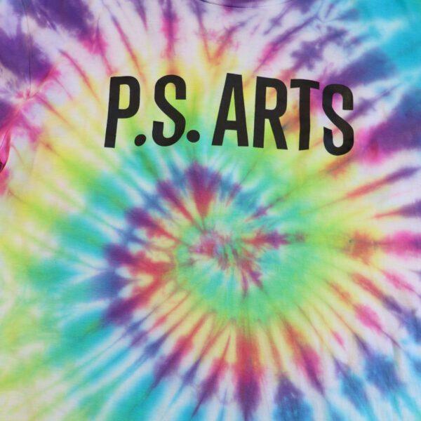 P.S. Arts tie dye shirt