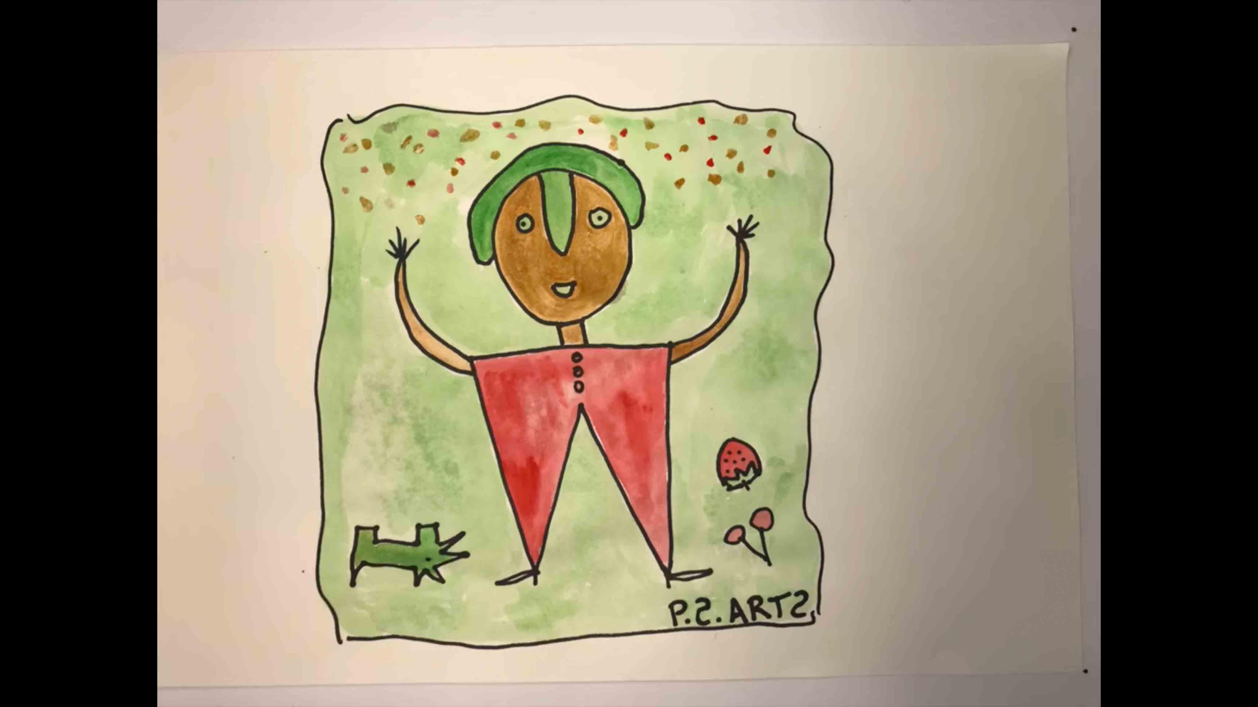 P.S. Arts Visual Arts Celebration Potraits