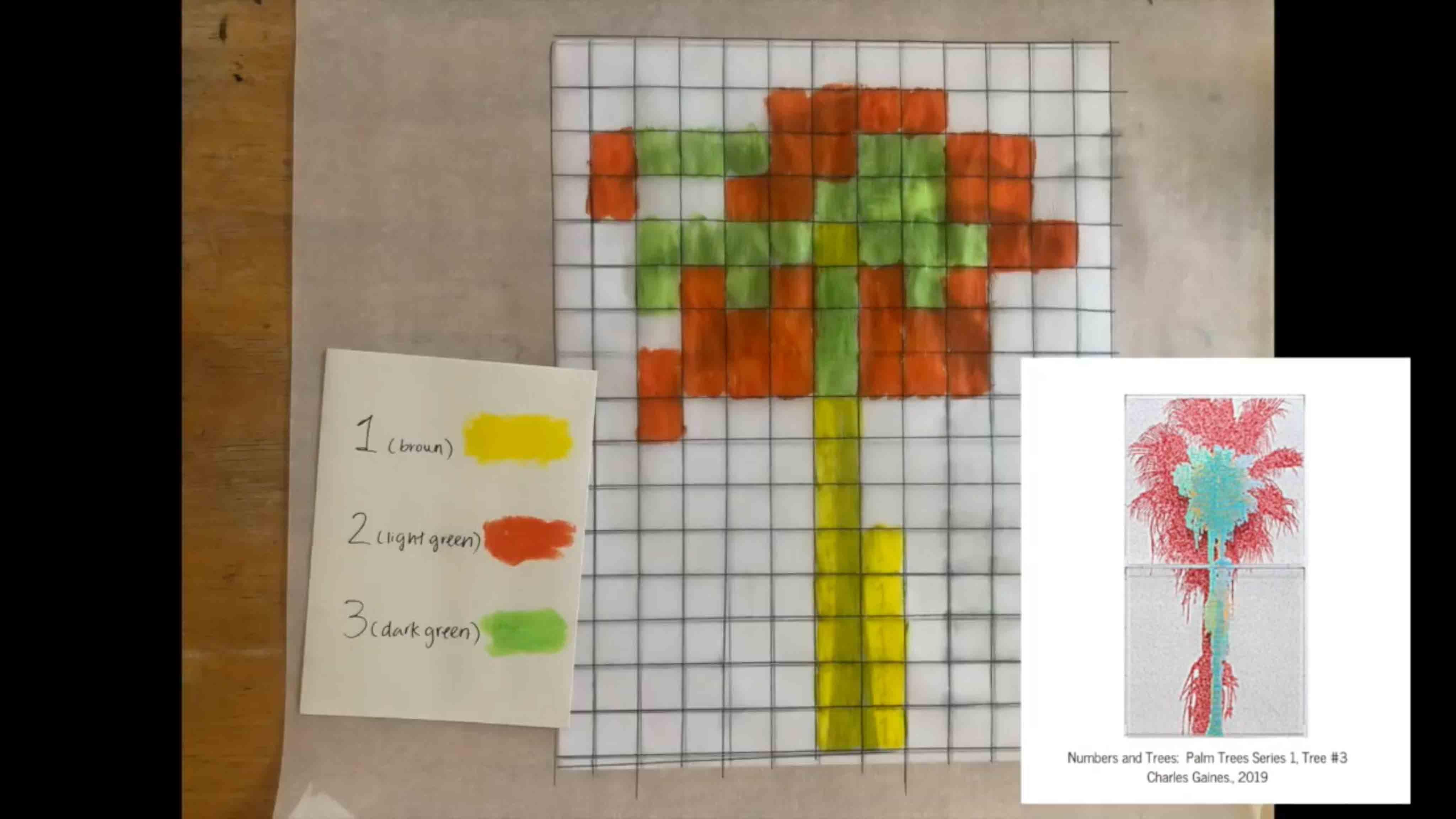 P.S. Arts Visual Art Grid Tree