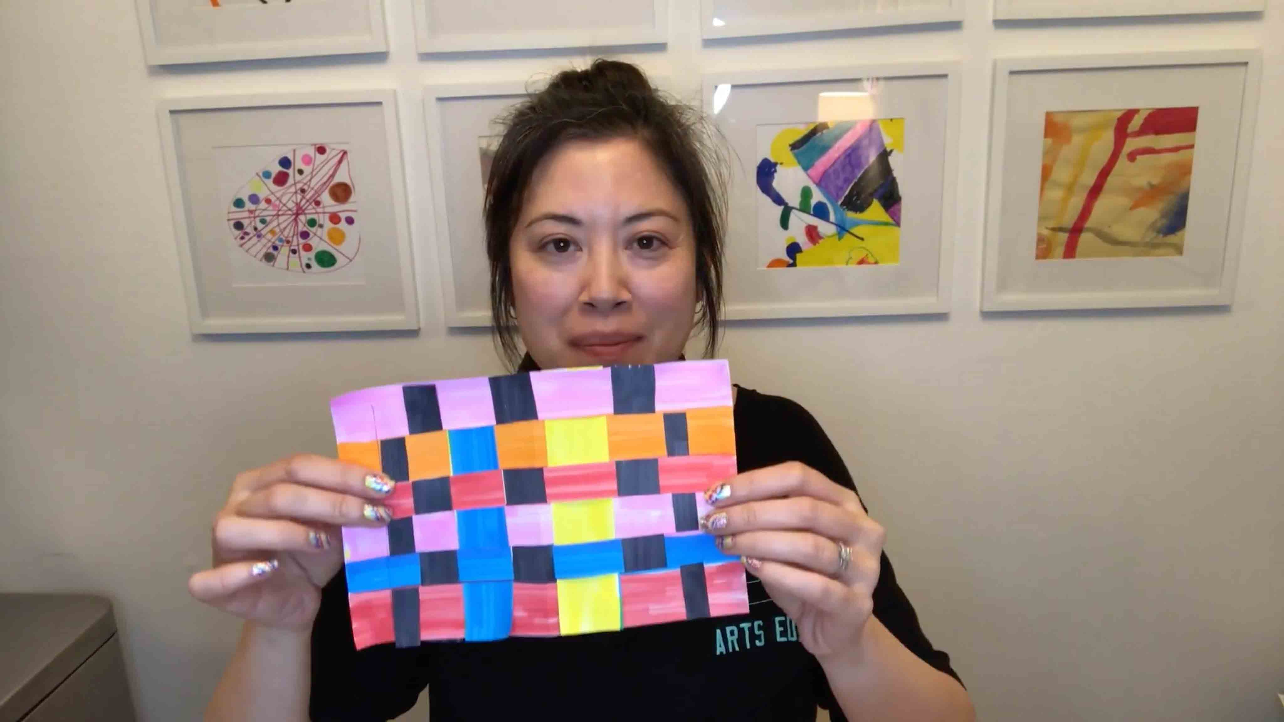 P.S. Arts Visual Art Paper Weaving
