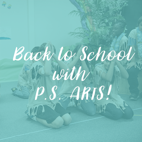 P.S. Arts Back to School 2016