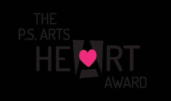 P.S. Arts heART award logo
