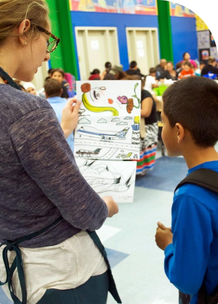 P.S. Arts our impact program evaluation