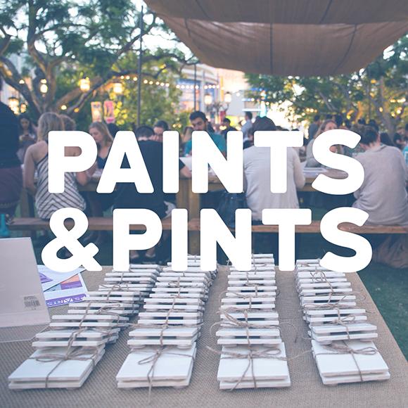 P.S. Arts Paints & Pints 2016 event